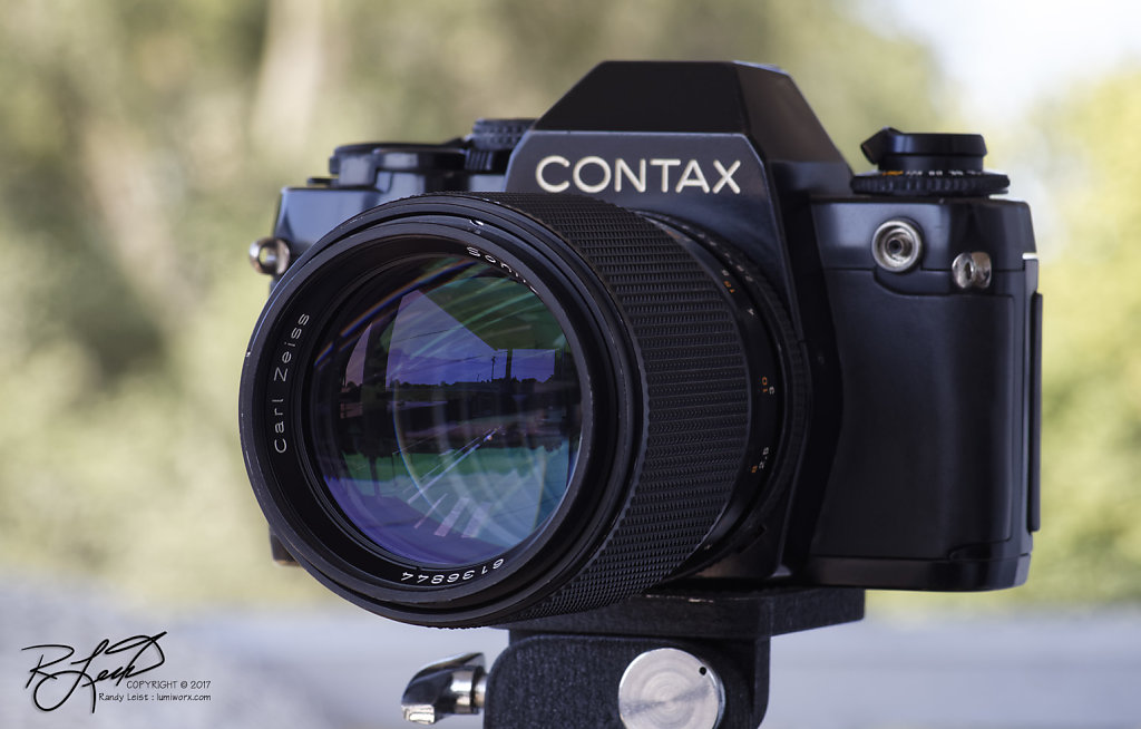 Contax 159MM w/Carl Zeiss Sonnar 135mm f/2.8