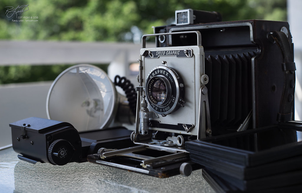 A typical Graflex 4x5 Press Camera - Rescued and Ready