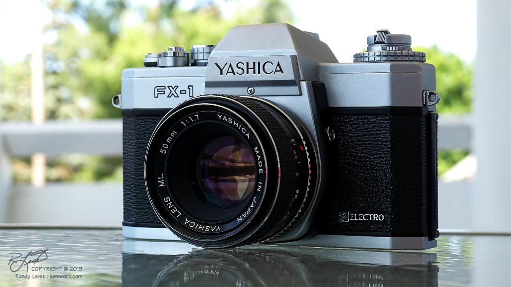 Yashica FX-1 w/ ML 50mm f/1.7