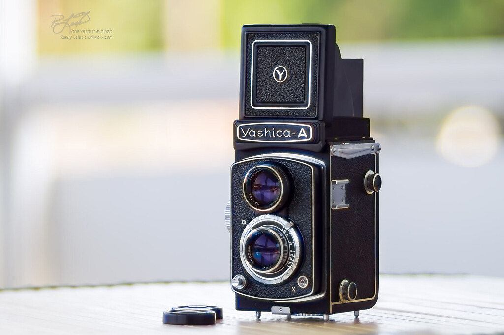 Yashica A TLR - Final Version from 1969-ish