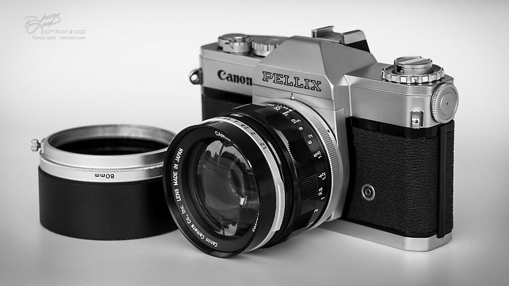 Canon Pellix w/ FL 58mm f/1.2