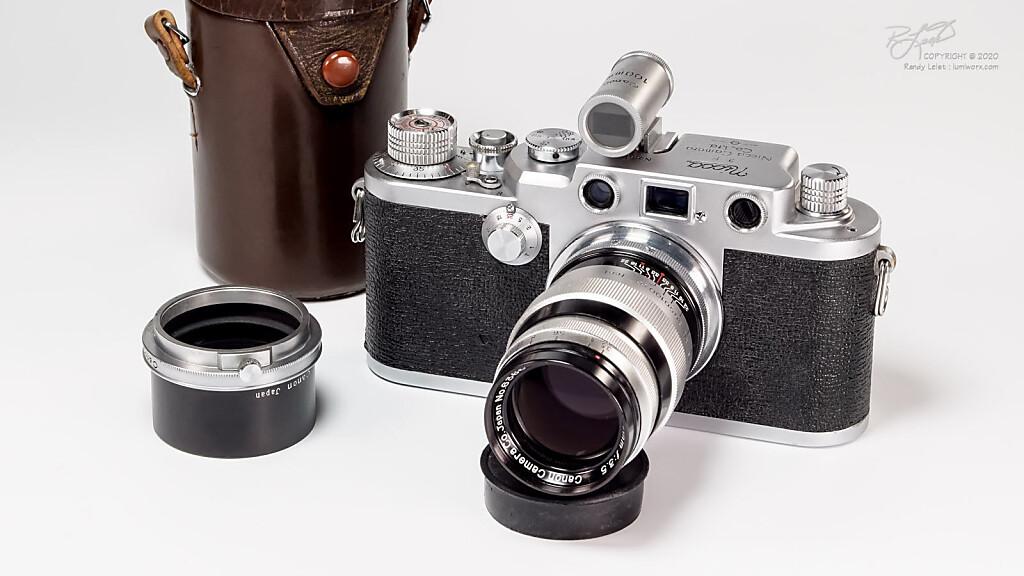 Nicca 3-F w/ Canon 100mm f/3.5