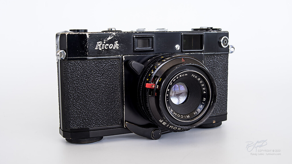 Ricoh 500 Rangefinder - Second Type from 1958